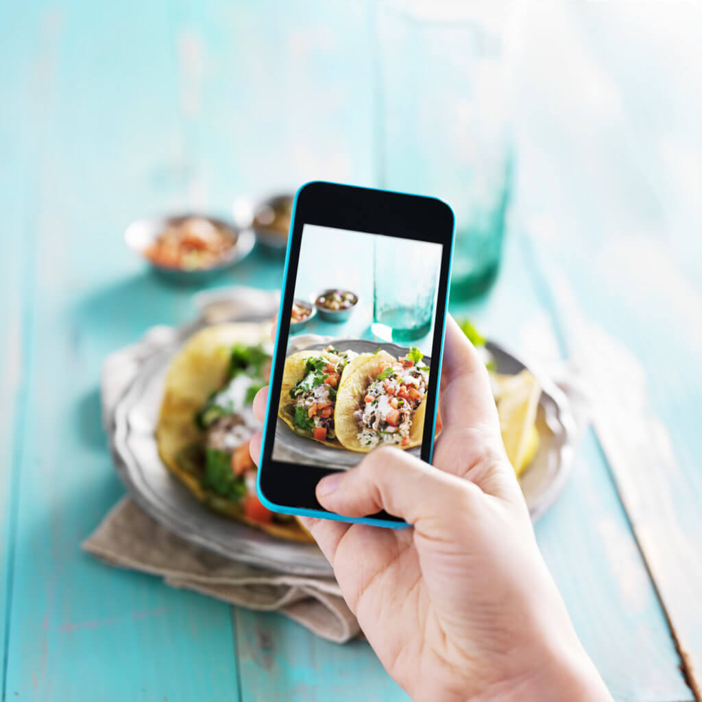 Taco selfie