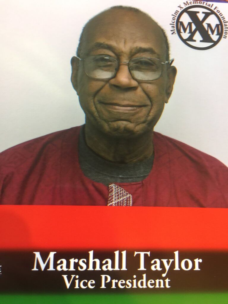 In Remembrance of Marshall Taylor